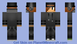 Teenager - Gray Hoodie with backwards hat followed by Swag (For Myself) Minecraft Skin
