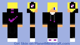 Blonde with nike jacket Minecraft Skin