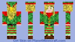 Santa's Elf Christmas Skin Minecraft Skin