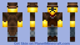 Novakid - Starbound Minecraft Skin