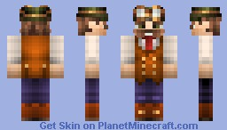 Classy Engineer Man Skin Request by LCDlamp Minecraft