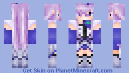 Cure Moonlight from Heartcatch Precure (Pretty Cure) Minecraft Skin