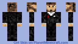 Me in a Tux Minecraft Skin