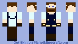 The Innkeeper Minecraft Skin