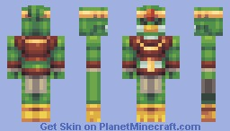 Avian [Starbound] Minecraft Skin