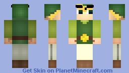 Toon Link - The Legend of Zelda Minecraft Skin