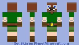 The Hybrid: Link/walrus-> Walink Minecraft Skin