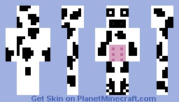 Mr.Moo Moo the cow Minecraft Skin