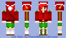 ~Santa's Great Granddaughter~ Minecraft