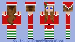 Santa's worker-Ally Minecraft