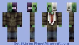 The Hostiles Minecraft Skin