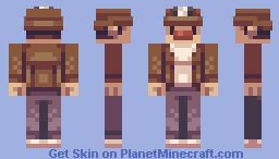 Spelunky Minecraft Skin