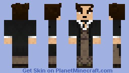 The 8th Doctor (The Night of the Doctor) Minecraft Skin
