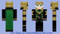 ORIGINAL The Avengers Lokis Full Battle Armor Minecraft Skin - Minecraft skins download fur pc