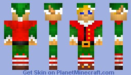 Jonathan - The good elf Minecraft Skin