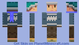 Man in Sweater Minecraft Skin