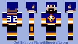 New York Islanders - NHL Minecraft Skin