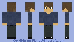 Relaxing Dude Minecraft Skin