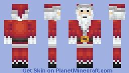 Santa Clause Minecraft Skin