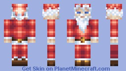 A Santa Skin. On Christmas. Heck yeah. [Read Desc.] Minecraft Skin