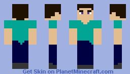 My Version Of Steve Minecraft Skin