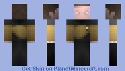 Chief Miles O Brien, / ST TNG Minecraft Skin