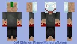 The Psycho Minecraft Skin