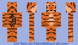Tiger Skin :) Minecraft Skin