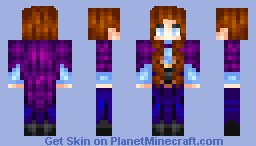 [Frozen] Anna - Princess of Arendelle Minecraft Skin