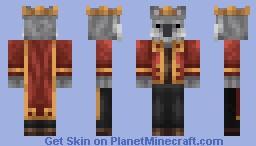 Henry: The Koala Emperor Minecraft Skin