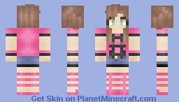 Shauna [Pokemon XY] Minecraft Skin