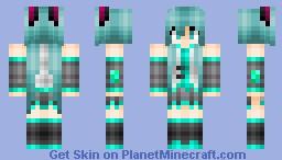 Miku Hatsune Minecraft Skin