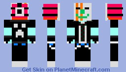 rave party punk Minecraft Skin