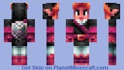 Pink Link Minecraft Skin