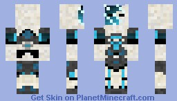 AstroFreeze Minecraft Skin