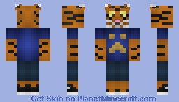 khajjit Minecraft Skin
