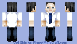 Walter Mitty Minecraft Skin