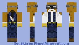 Mining Beagle Minecraft Skin