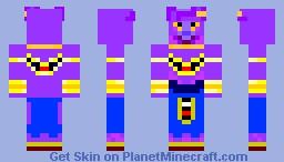 Goku Super Saiyan God Minecraft Skin - Skins para minecraft pe de goku