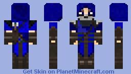 Blue Archer Minecraft Skin
