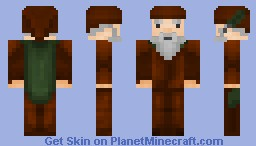 Gnome Druid Minecraft Skin