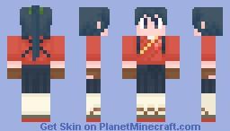 Houshou【艦これ】 Minecraft Skin