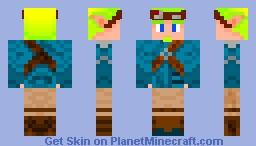 Jak (from Jak and Daxter) Minecraft Skin