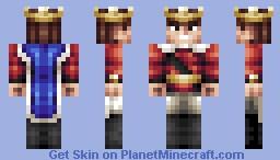 King (Skin Battle vs. DragonsDungeon!) Minecraft Skin