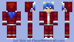 Konata Izumi Santa Cosplay (Popular Reel!) Minecraft Skin