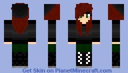 Ginger With Black Beanie Minecraft Skin