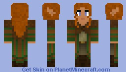 Lord of the craft skins minecraft collection wood elf woman striped coat minecraft skin sciox Images