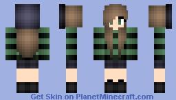 A Soft Spoken Girl Minecraft Skin