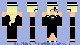 CIA Lady @ Party 030 Minecraft Skin