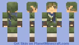 Legend of Zelda: Link Minecraft Skin